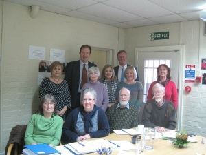 Bill Wiggin MP with Herefordshire Carers