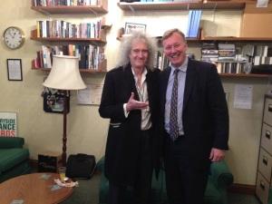 Bill Wiggin MP and Dr Brian May