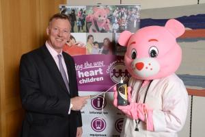 Bill child heart campaign Tues 29 April 2014