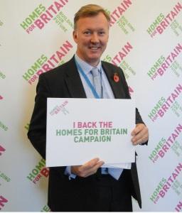 Bill Wiggin MP Homes for Britain campaign