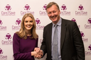 Bill Wiggin MP with Donna Air